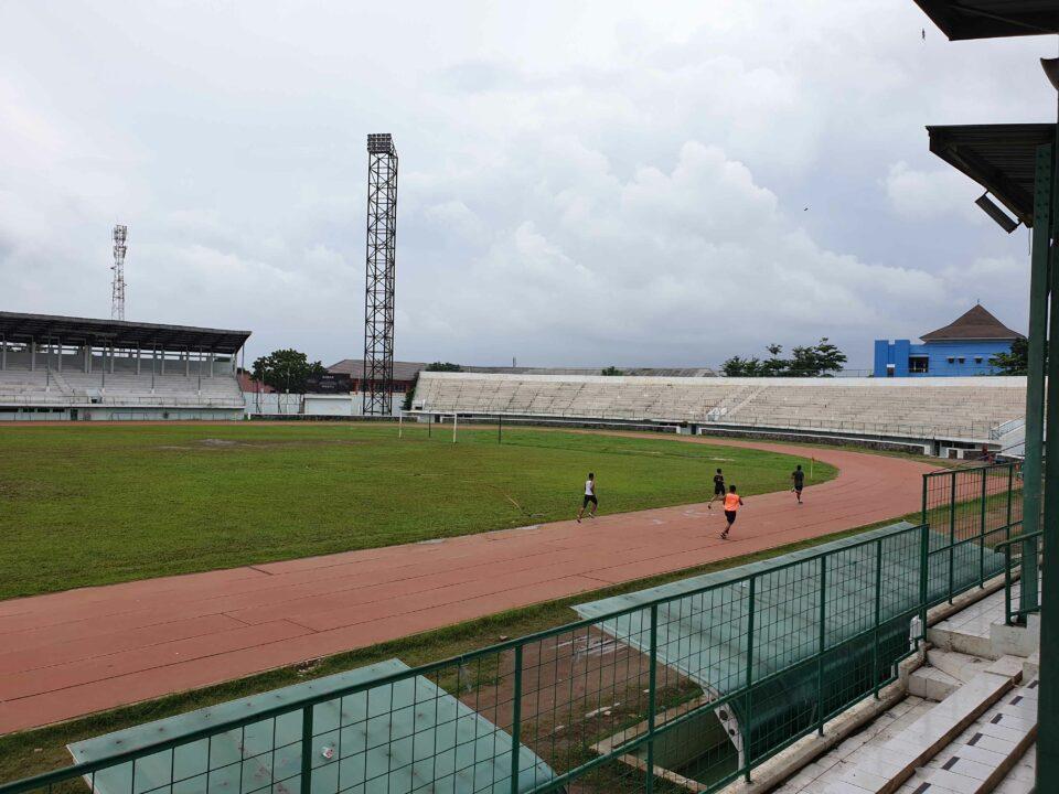 internet karawang pintar di Stadion Singaperbangsa, Karawang.